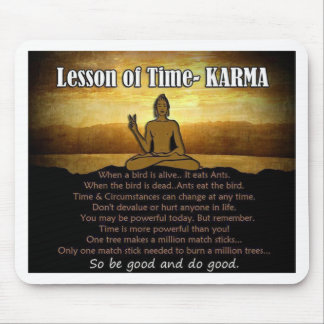 Lessons of Time_Karma Mouse Pad