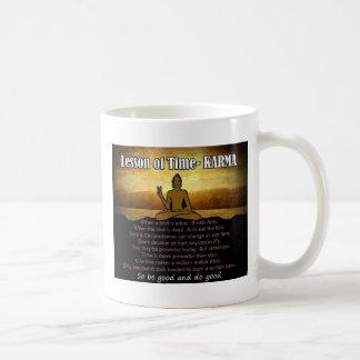 Lessons of Time_Karma Coffee Mugs