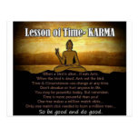 Lessons of Time_Karma Post Card