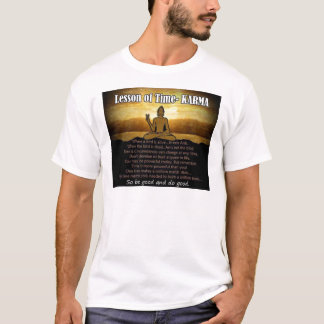 Lessons of Time_Karma T-Shirt