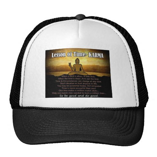 Lessons of Time_Karma Trucker Hat