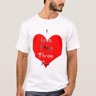 lessthanthree T-Shirt
