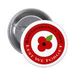 Lest we forget - Badge Pins