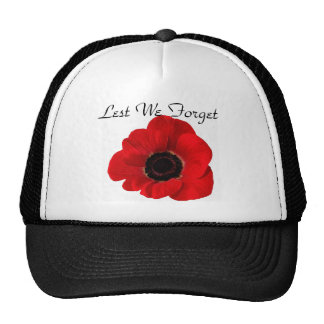 Lest We Forget Trucker Hats