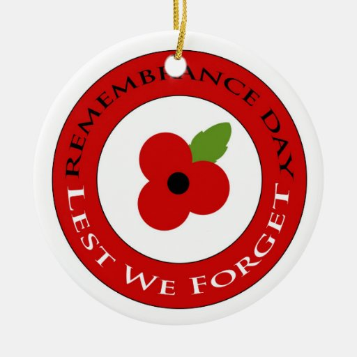 Lest we forget - Ornament