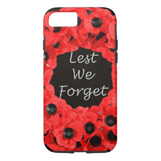Lest We Forget (Poppy Wreath) iPhone 8/7 Case