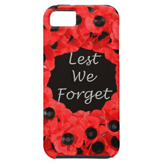 Lest We Forget (Poppy Wreath) iPhone SE/5/5s Case