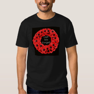 Lest We Forget (Poppy Wreath) T-Shirt