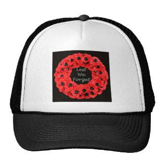 Lest We Forget (Poppy Wreath) Trucker Hat