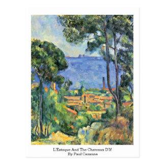 L'Estaque And The Chateaux D'If By Paul Cezanne Postcard