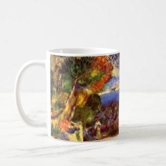 L'Estaque by Pierre Renoir, Vintage Impressionism Coffee Mug