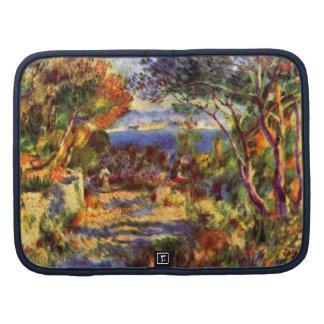 L'Estaque by Renoir, Vintage Impressionism Art Organizer