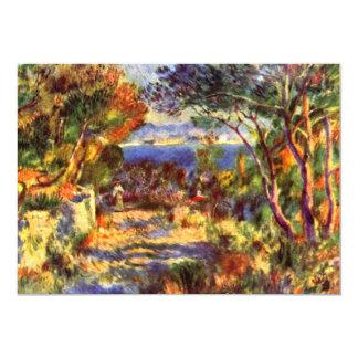 L'Estaque por Renoir, arte del impresionismo del Invitación 12,7 X 17,8 Cm