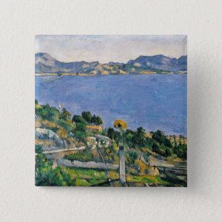 L'Estaque, View of the Bay of Marseilles Pinback Button