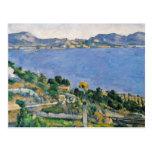 L'Estaque, vista de la bahía de Marsella Tarjetas Postales