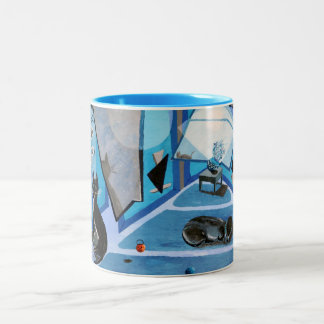Lestat & Harry Two-Tone Coffee Mug