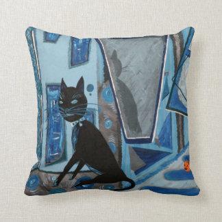 Lestat the Cat Throw Pillows