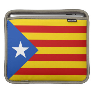 """L'Estelada Blava"" Catalan Independence Flag Sleeves For iPads"
