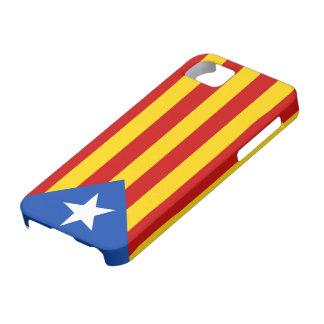 """""""L'Estelada Blava"""" Catalan Independence Flag iPhone SE/5/5s Case"""