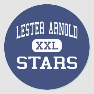 Lester Arnold - Stars - High - Commerce City Classic Round Sticker