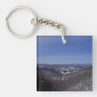 Lester From Above Keychain