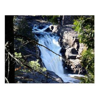 Lester Park Waterfall Postcard