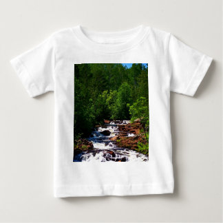 Lester River Waterfalls Baby T-Shirt