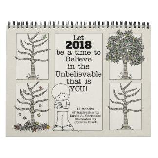 Let 2018 Be A Time (Medium) Calendar