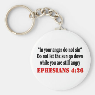 Let Anger Go Keychain