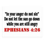 Let Anger Go Post Card