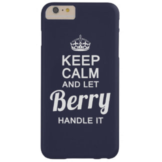 Let Berry handle it Barely There iPhone 6 Plus Case