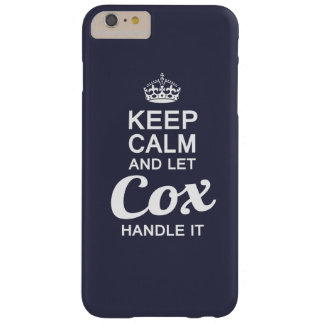 Let Cox handle it Barely There iPhone 6 Plus Case