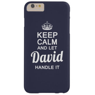 Let David handle it Barely There iPhone 6 Plus Case