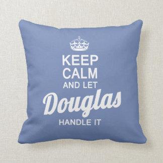 Let Douglas handle it! Throw Pillow