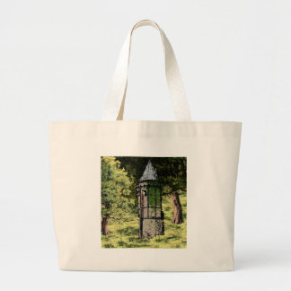 Let Down Your Hair Jumbo Tote Bag