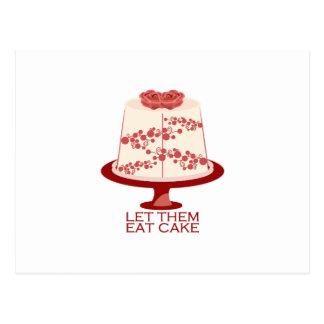 Let Eat Them Cake Postcards