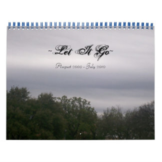 ~Let él Go~, agosto de 2009-julio de 2010 Calendarios