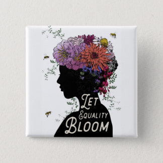 Let Equality Bloom - Button