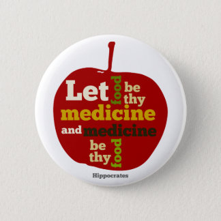 let food be thy medicine and medicine be thy food button