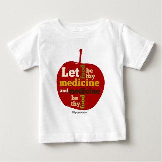 Let Food be thy Medicine APPLE T-shirt
