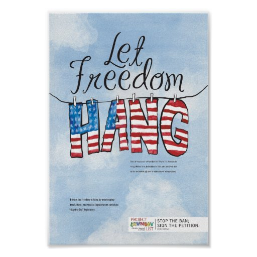 Let Freedom Hang Poster