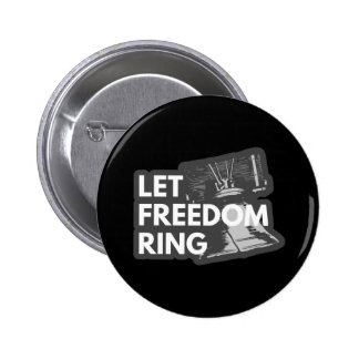 Let Freedom Ring Button