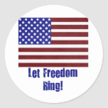 let freedom ring copy sticker