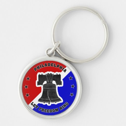 Let Freedom Ring keychain