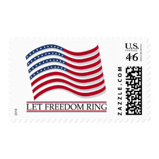 Let Freedom Ring postage