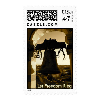 Let Freedom Ring Postage Stamp