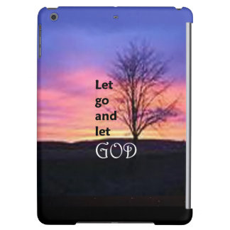 Let Go and Let God 2 iPad Air Covers