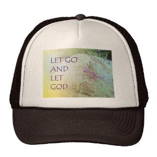 Let Go and Let God Boulder and Butterfly Bush Trucker Hat