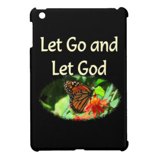 LET GO AND LET GOD BUTTERFLY DESIGN iPad MINI CASE