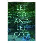 Let Go and Let God Card